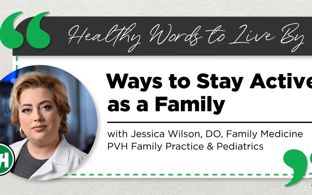 Ways to Stay Active as a Family