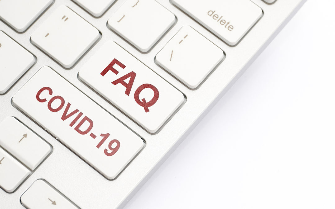 The Top 6 FAQs About COVID-19